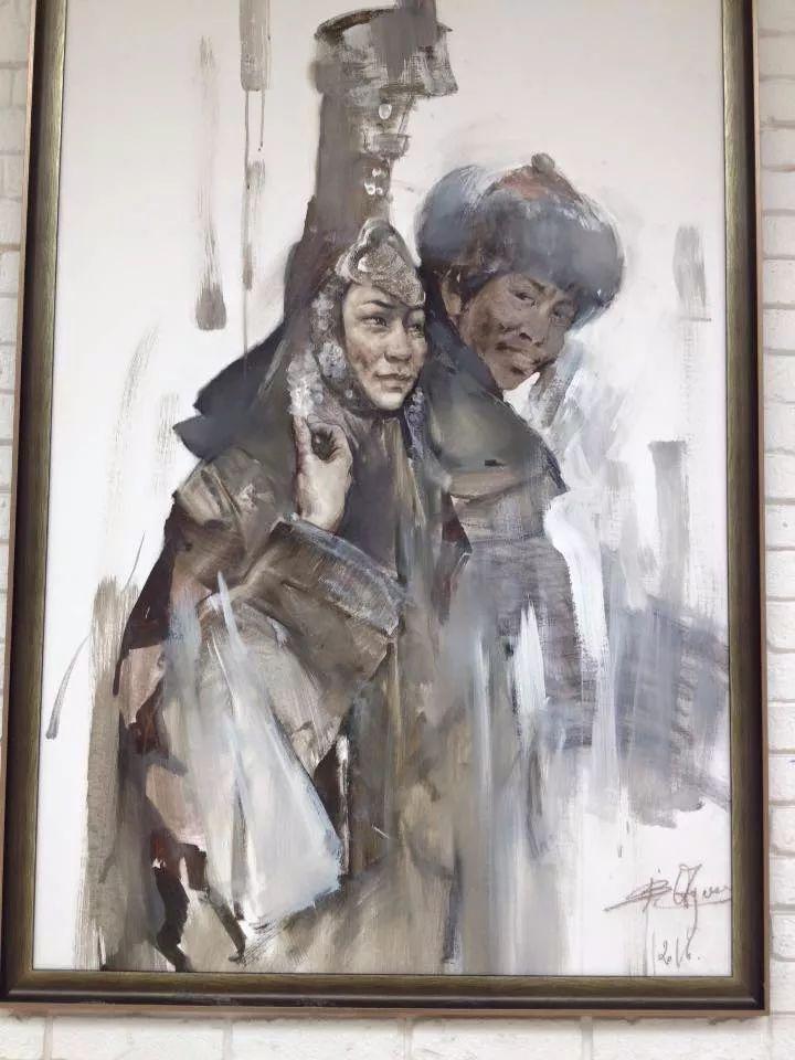 蒙古青年艺术家Otgontuvden油画作品欣赏 第12张 蒙古青年艺术家Otgontuvden油画作品欣赏 蒙古画廊