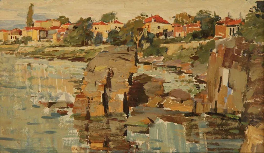 蒙古青年艺术家Otgontuvden油画作品欣赏 第17张 蒙古青年艺术家Otgontuvden油画作品欣赏 蒙古画廊