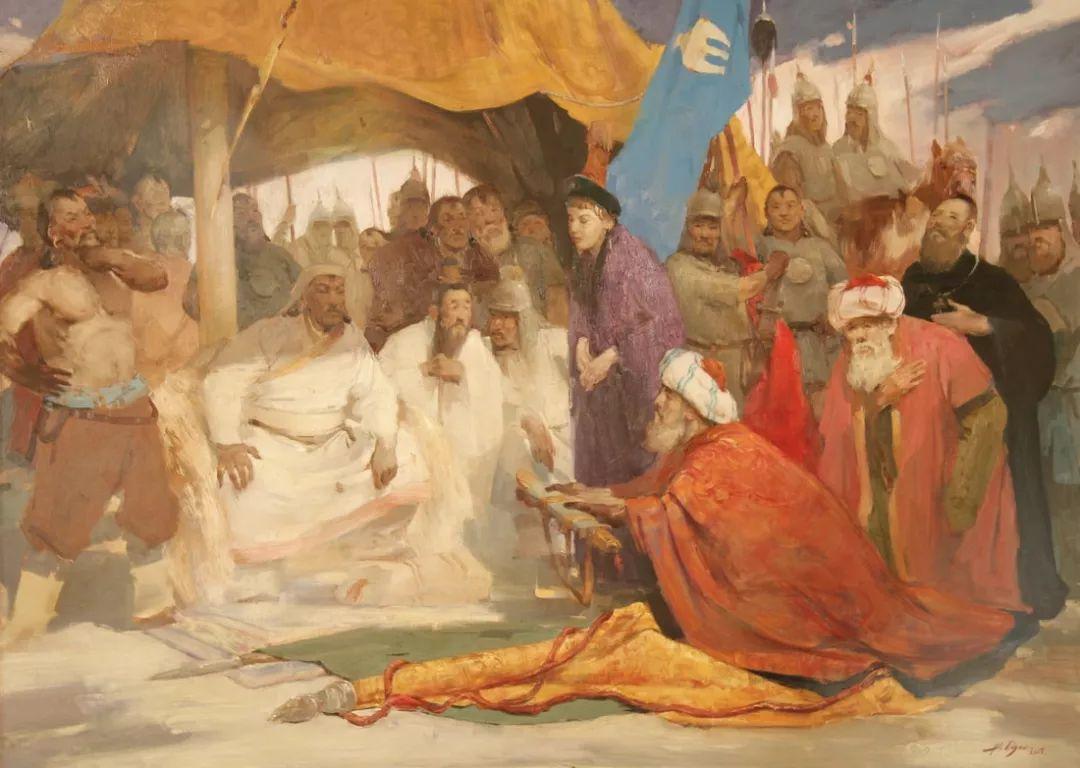 蒙古青年艺术家Otgontuvden油画作品欣赏 第19张 蒙古青年艺术家Otgontuvden油画作品欣赏 蒙古画廊