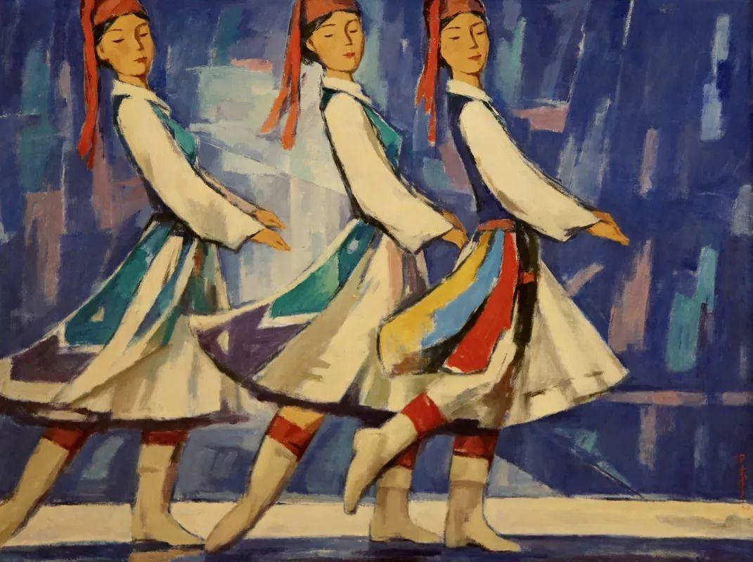 蒙古青年艺术家Otgontuvden油画作品欣赏 第20张 蒙古青年艺术家Otgontuvden油画作品欣赏 蒙古画廊