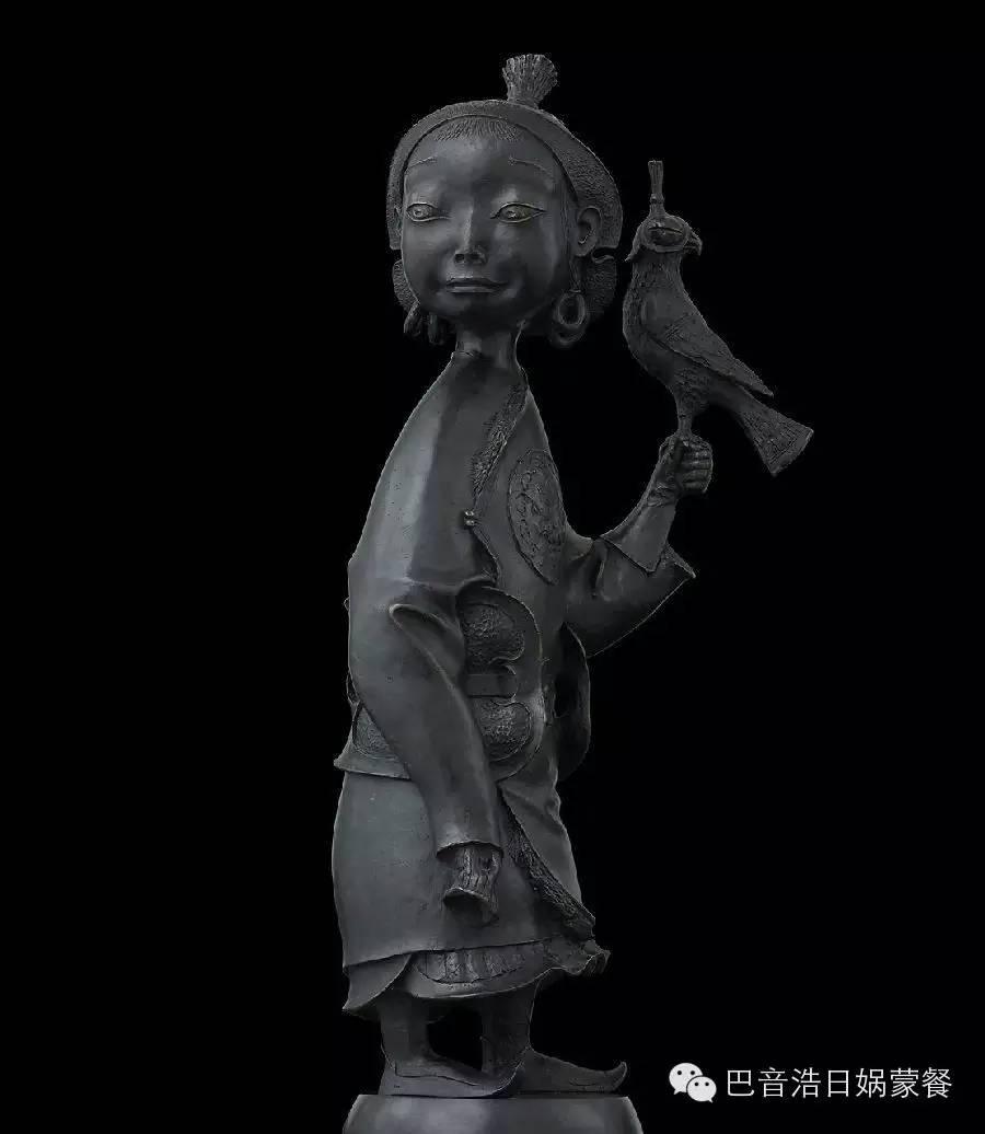 【分享】布里亚特蒙古艺术家达希•纳姆达科夫Dashi Namdakov(雕塑篇) 第8张