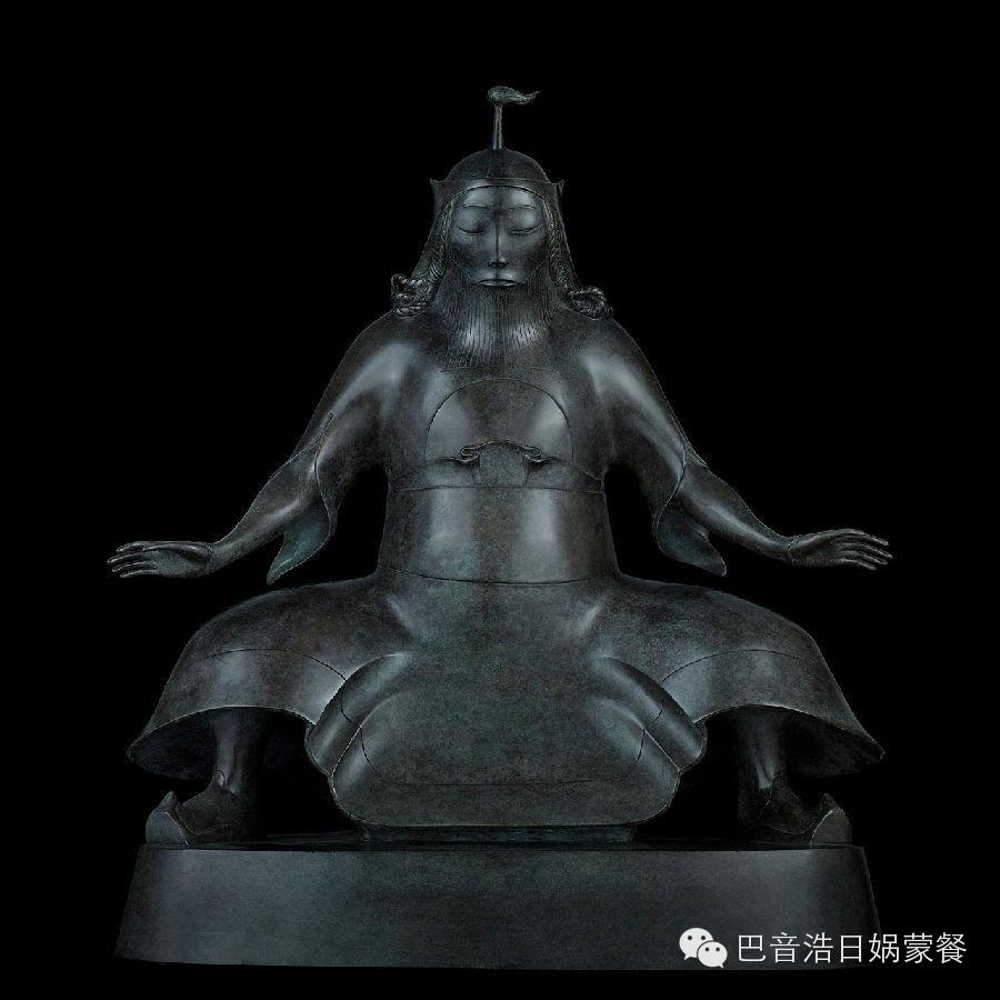 【分享】布里亚特蒙古艺术家达希•纳姆达科夫Dashi Namdakov(雕塑篇) 第7张