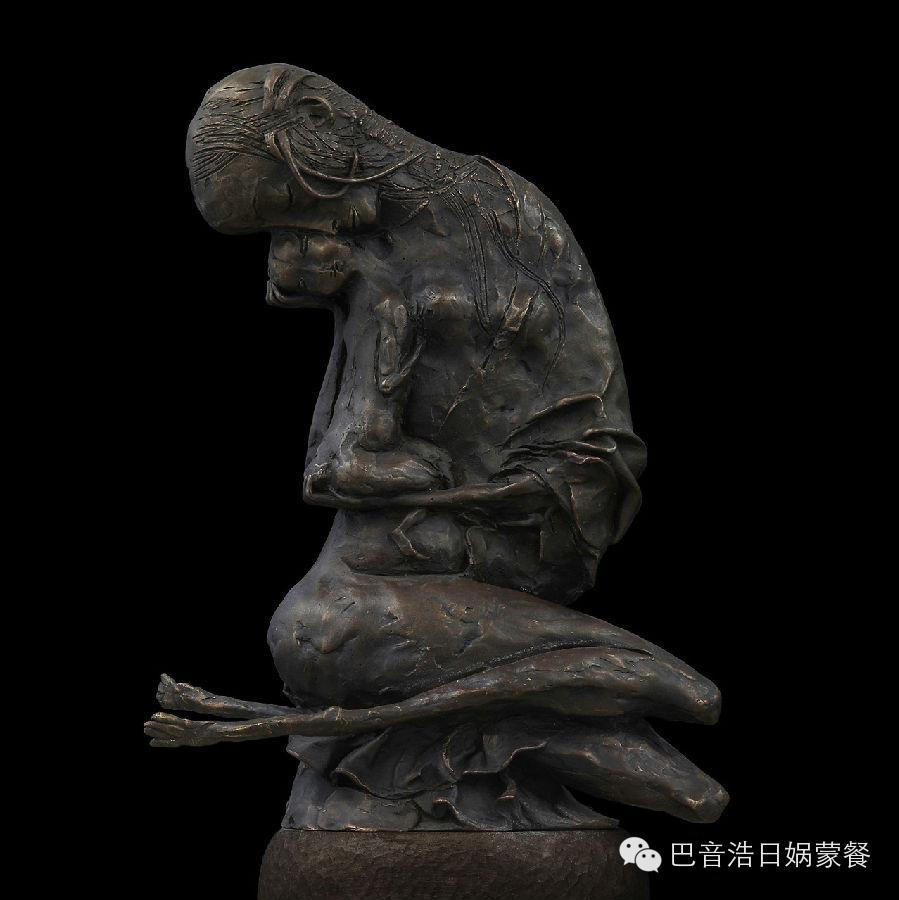 【分享】布里亚特蒙古艺术家达希•纳姆达科夫Dashi Namdakov(雕塑篇) 第9张