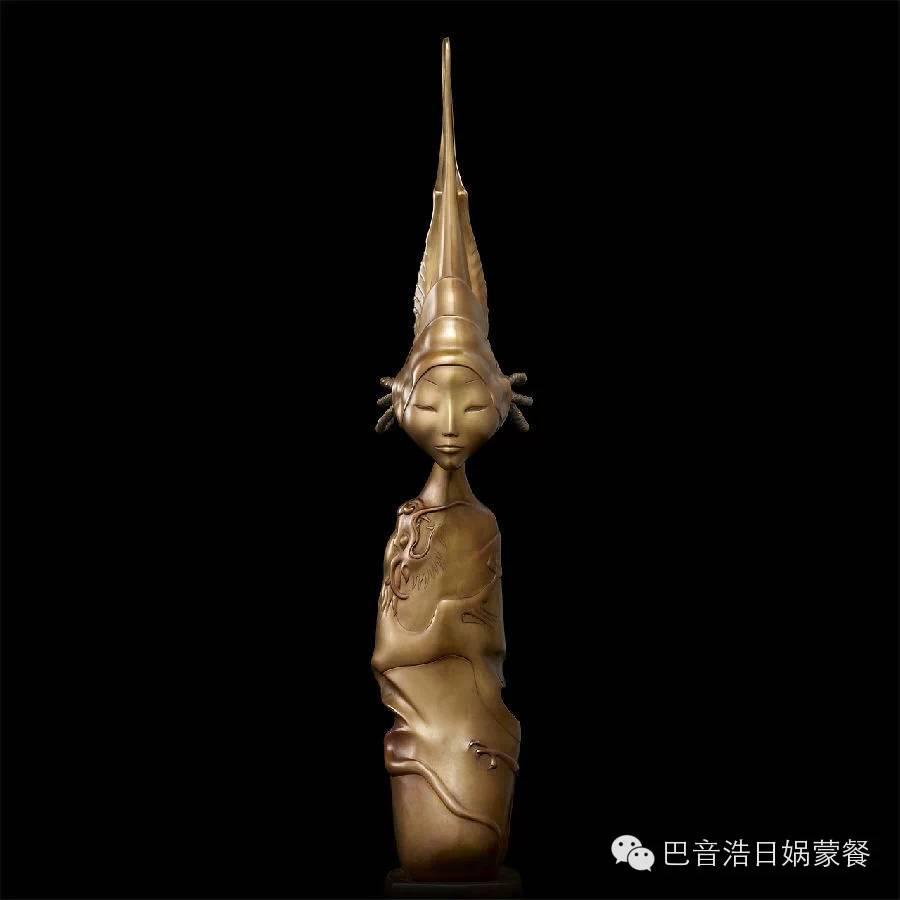 【分享】布里亚特蒙古艺术家达希•纳姆达科夫Dashi Namdakov(雕塑篇) 第14张