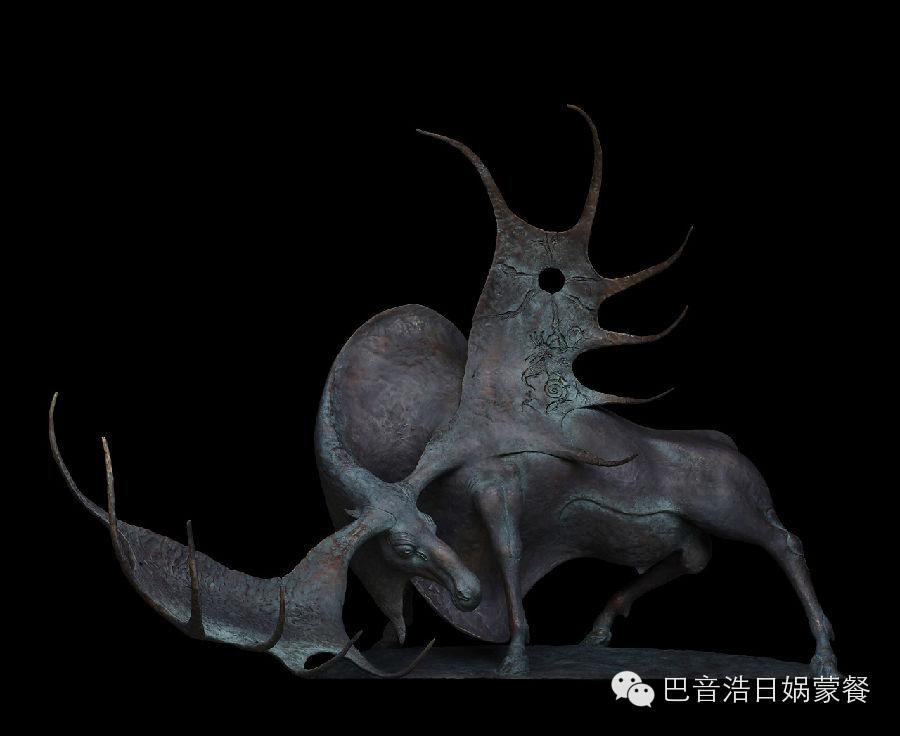 【分享】布里亚特蒙古艺术家达希•纳姆达科夫Dashi Namdakov(雕塑篇) 第19张