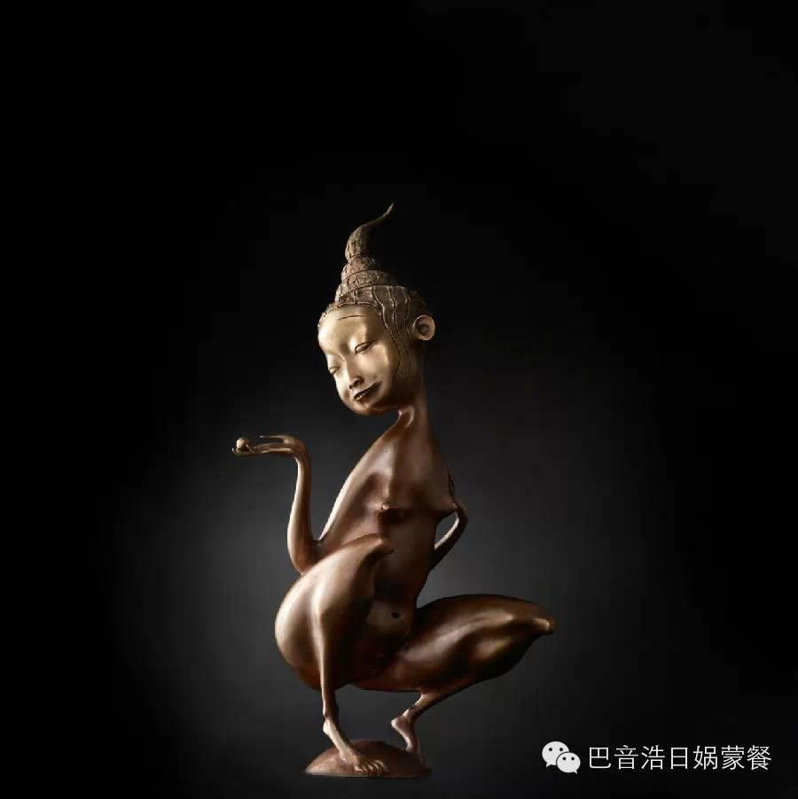 【分享】布里亚特蒙古艺术家达希•纳姆达科夫Dashi Namdakov(雕塑篇) 第24张