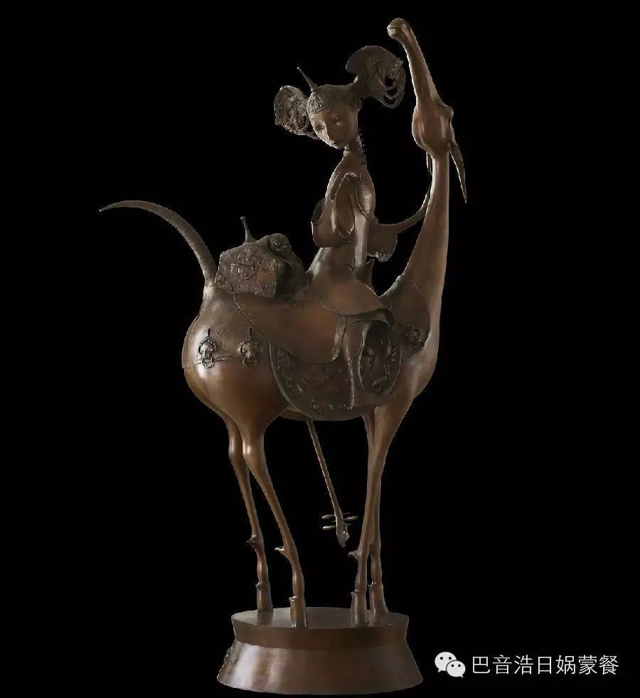 【分享】布里亚特蒙古艺术家达希•纳姆达科夫Dashi Namdakov(雕塑篇) 第27张
