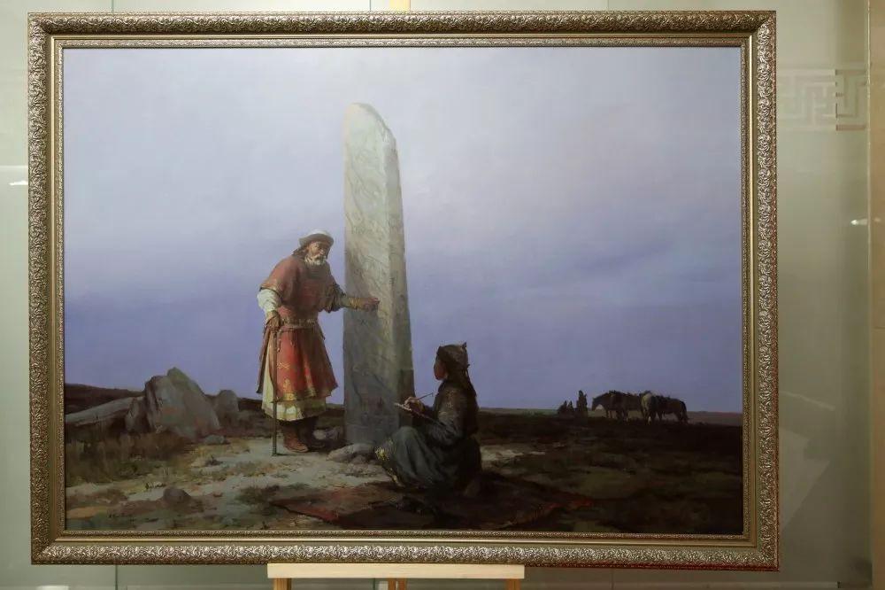 """蒙古现实主义艺术家的""""遗产""""展览开幕 第1张 蒙古现实主义艺术家的""""遗产""""展览开幕 蒙古画廊"""