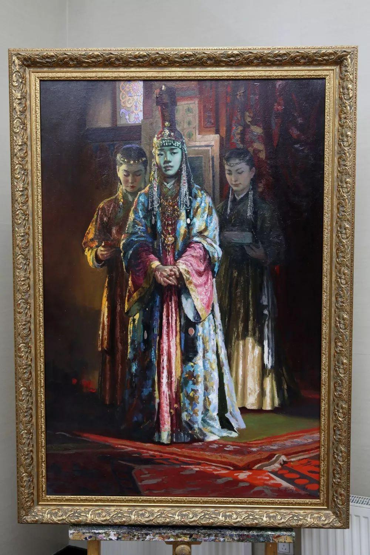 """蒙古现实主义艺术家的""""遗产""""展览开幕 第2张 蒙古现实主义艺术家的""""遗产""""展览开幕 蒙古画廊"""