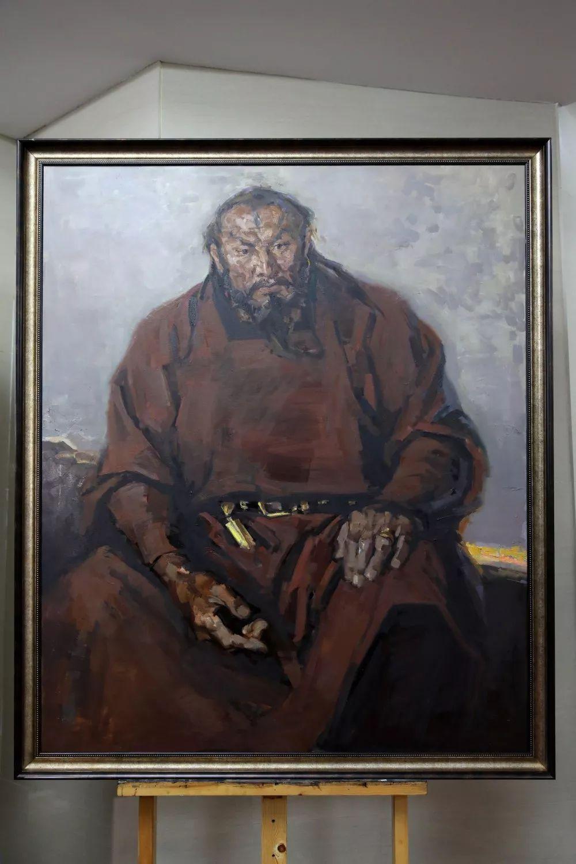 """蒙古现实主义艺术家的""""遗产""""展览开幕 第5张 蒙古现实主义艺术家的""""遗产""""展览开幕 蒙古画廊"""