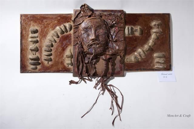 【美图】蒙古国皮画家艺术家吉雅图作品欣赏 第2张