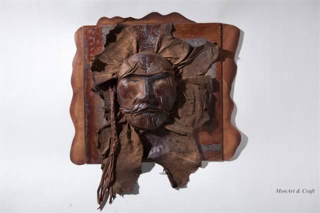 【美图】蒙古国皮画家艺术家吉雅图作品欣赏 第3张