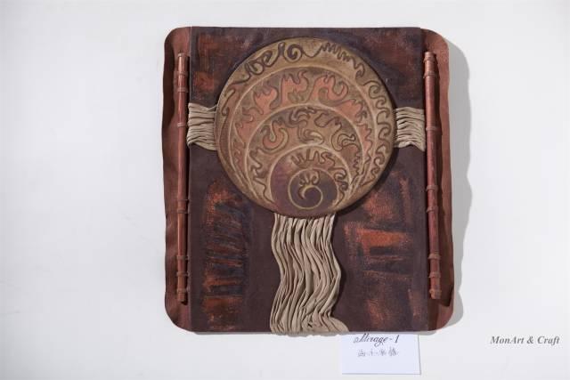 【美图】蒙古国皮画家艺术家吉雅图作品欣赏 第8张