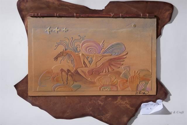 【美图】蒙古国皮画家艺术家吉雅图作品欣赏 第21张