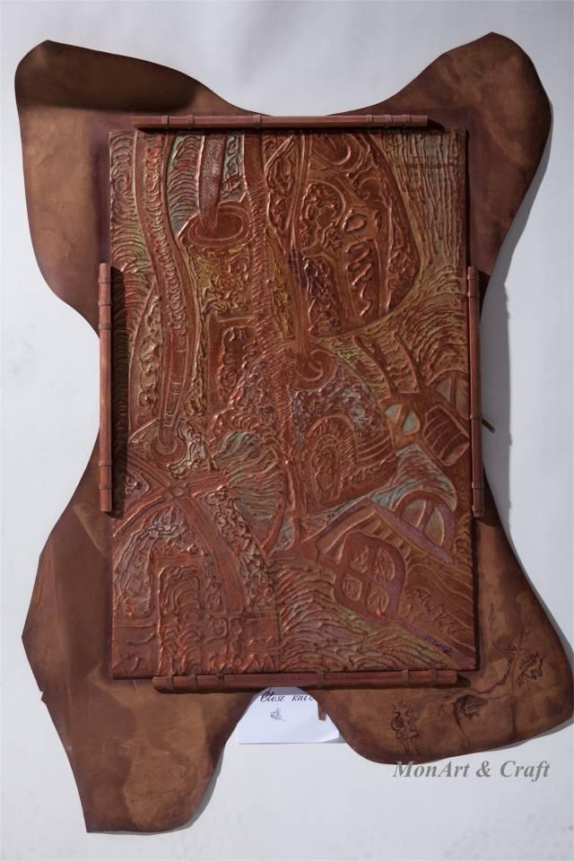 【美图】蒙古国皮画家艺术家吉雅图作品欣赏 第22张