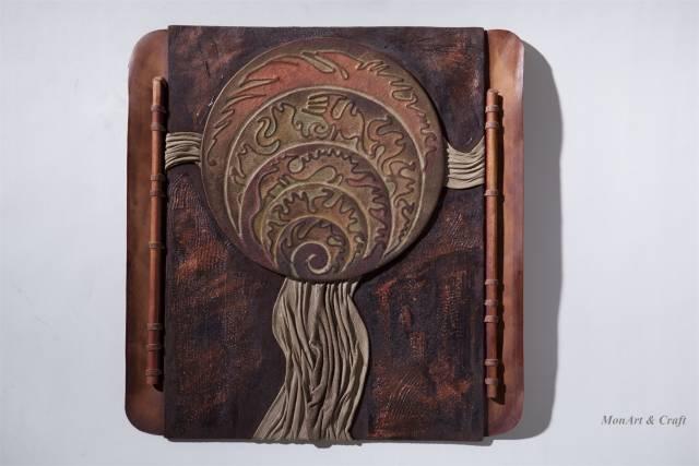 【美图】蒙古国皮画家艺术家吉雅图作品欣赏 第24张