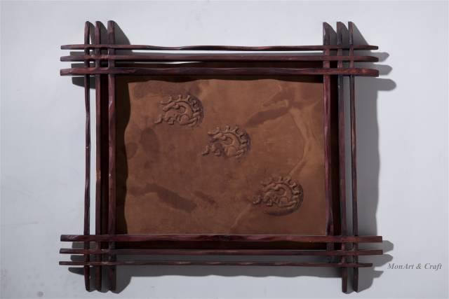 【美图】蒙古国皮画家艺术家吉雅图作品欣赏 第27张