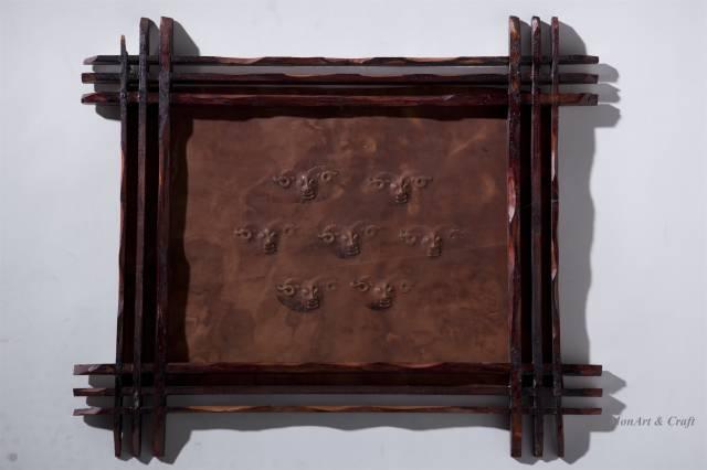 【美图】蒙古国皮画家艺术家吉雅图作品欣赏 第25张