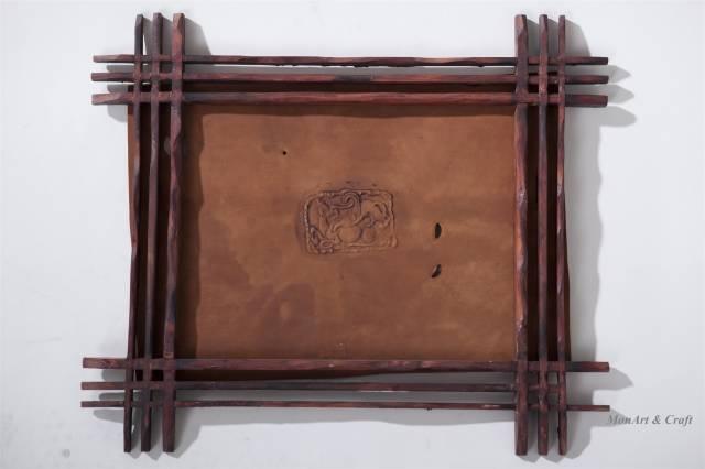 【美图】蒙古国皮画家艺术家吉雅图作品欣赏 第29张