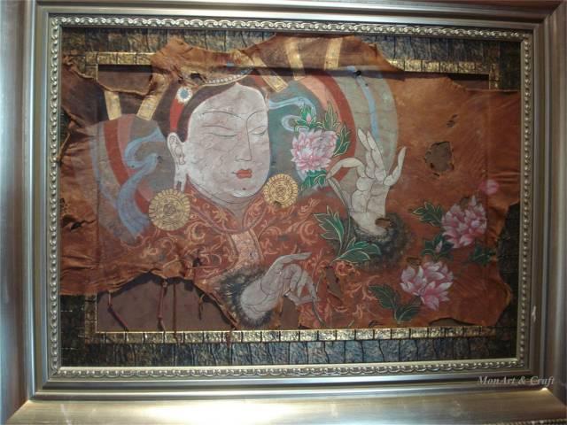 【美图】蒙古国皮画家艺术家吉雅图作品欣赏 第34张