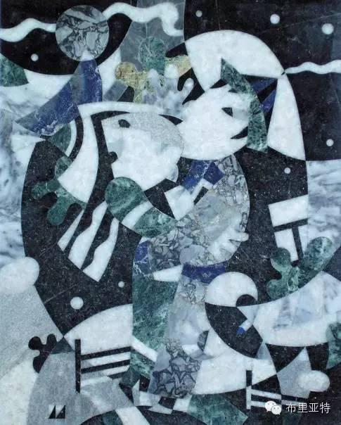 刚在蒙古办展览的布里亚特艺术家尤里作品欣赏 第3张