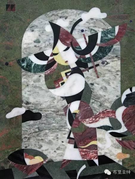 刚在蒙古办展览的布里亚特艺术家尤里作品欣赏 第5张