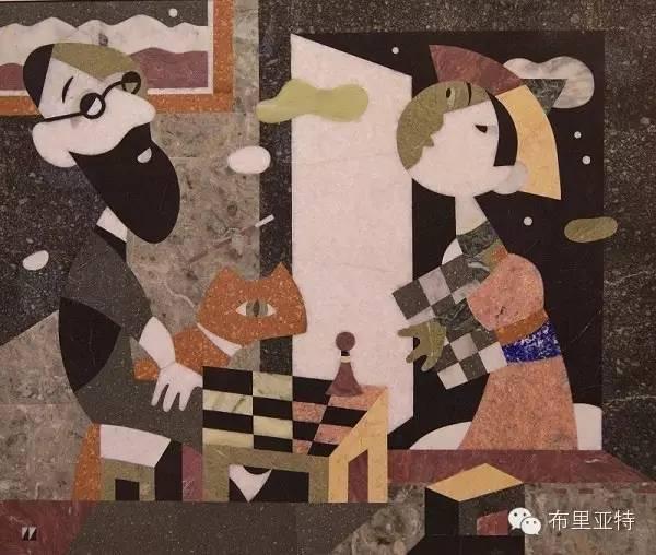 刚在蒙古办展览的布里亚特艺术家尤里作品欣赏 第11张