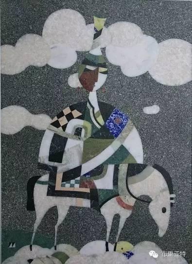 刚在蒙古办展览的布里亚特艺术家尤里作品欣赏 第10张