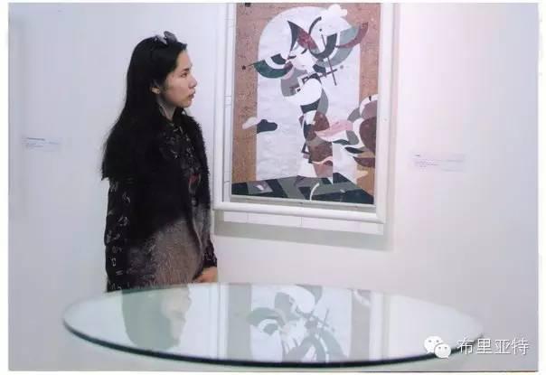 刚在蒙古办展览的布里亚特艺术家尤里作品欣赏 第17张