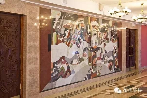 刚在蒙古办展览的布里亚特艺术家尤里作品欣赏 第14张