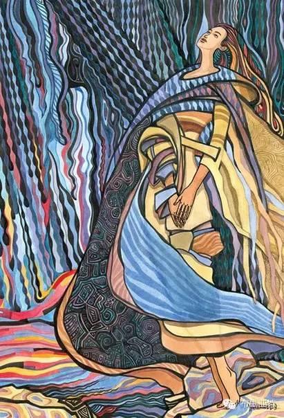 【阿努美图】插画大师乌日巴哈那夫经典作品欣赏 第8张 【阿努美图】插画大师乌日巴哈那夫经典作品欣赏 蒙古画廊