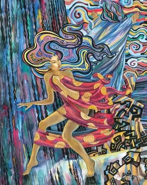 【阿努美图】插画大师乌日巴哈那夫经典作品欣赏 第15张 【阿努美图】插画大师乌日巴哈那夫经典作品欣赏 蒙古画廊