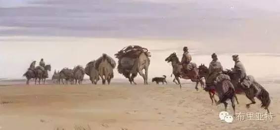 【ANU美图】卡尔梅克画家莫日根油画欣赏 第10张