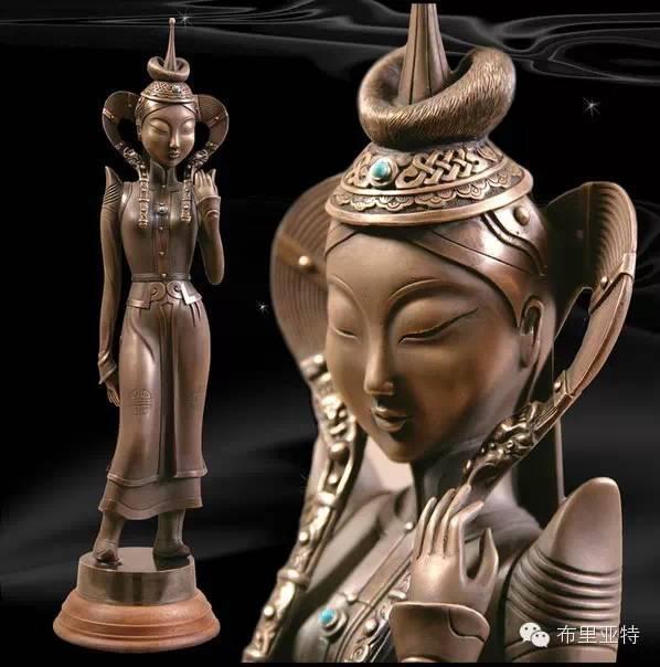 【蒙古文艺】艺术家布德扎布的雕塑作品欣赏 第2张