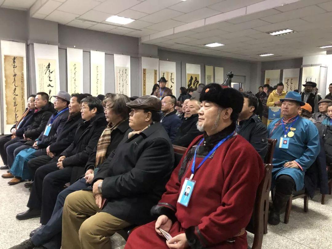吉祥的哈达蒙古文书法系列活动 第5张