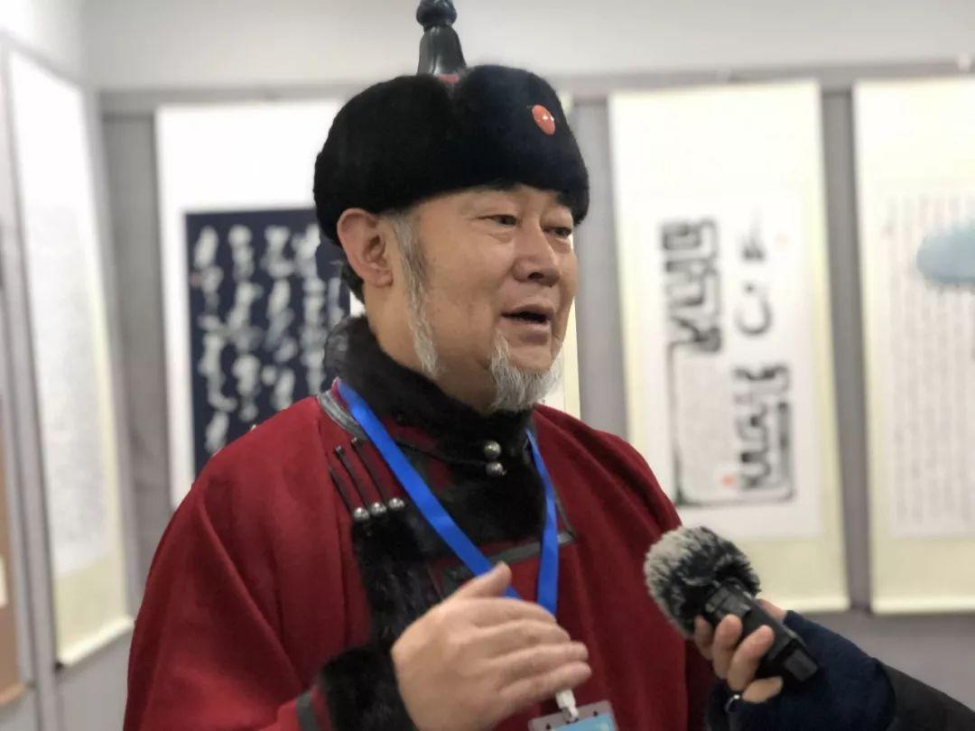 吉祥的哈达蒙古文书法系列活动 第8张