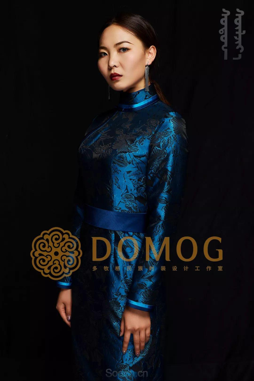 DOMOG蒙古时装绝美秋冬款系列,美出新高度! 第1张