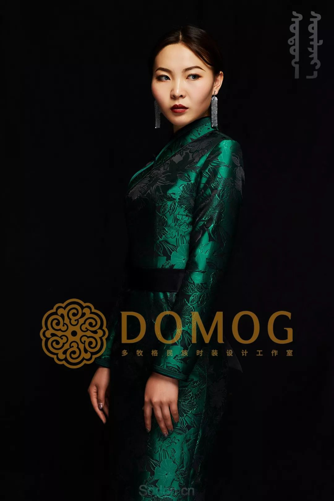DOMOG蒙古时装绝美秋冬款系列,美出新高度! 第7张