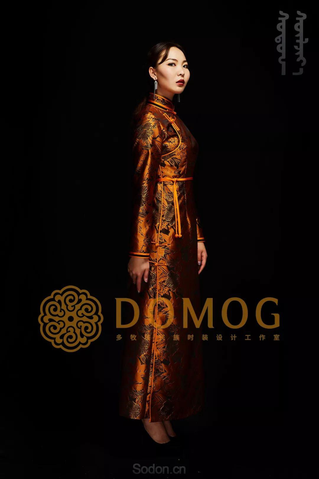 DOMOG蒙古时装绝美秋冬款系列,美出新高度! 第6张