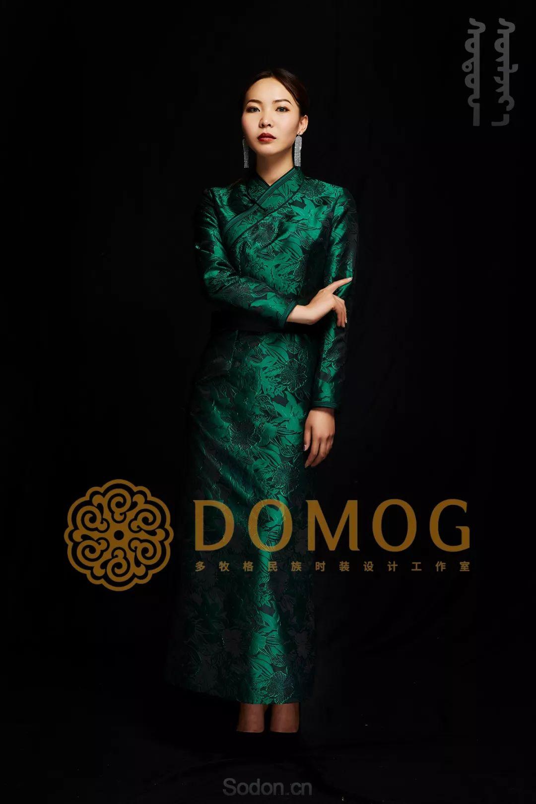 DOMOG蒙古时装绝美秋冬款系列,美出新高度! 第8张