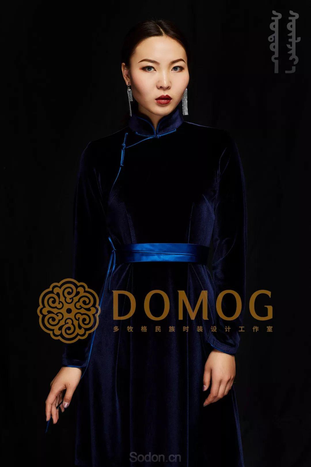 DOMOG蒙古时装绝美秋冬款系列,美出新高度! 第11张