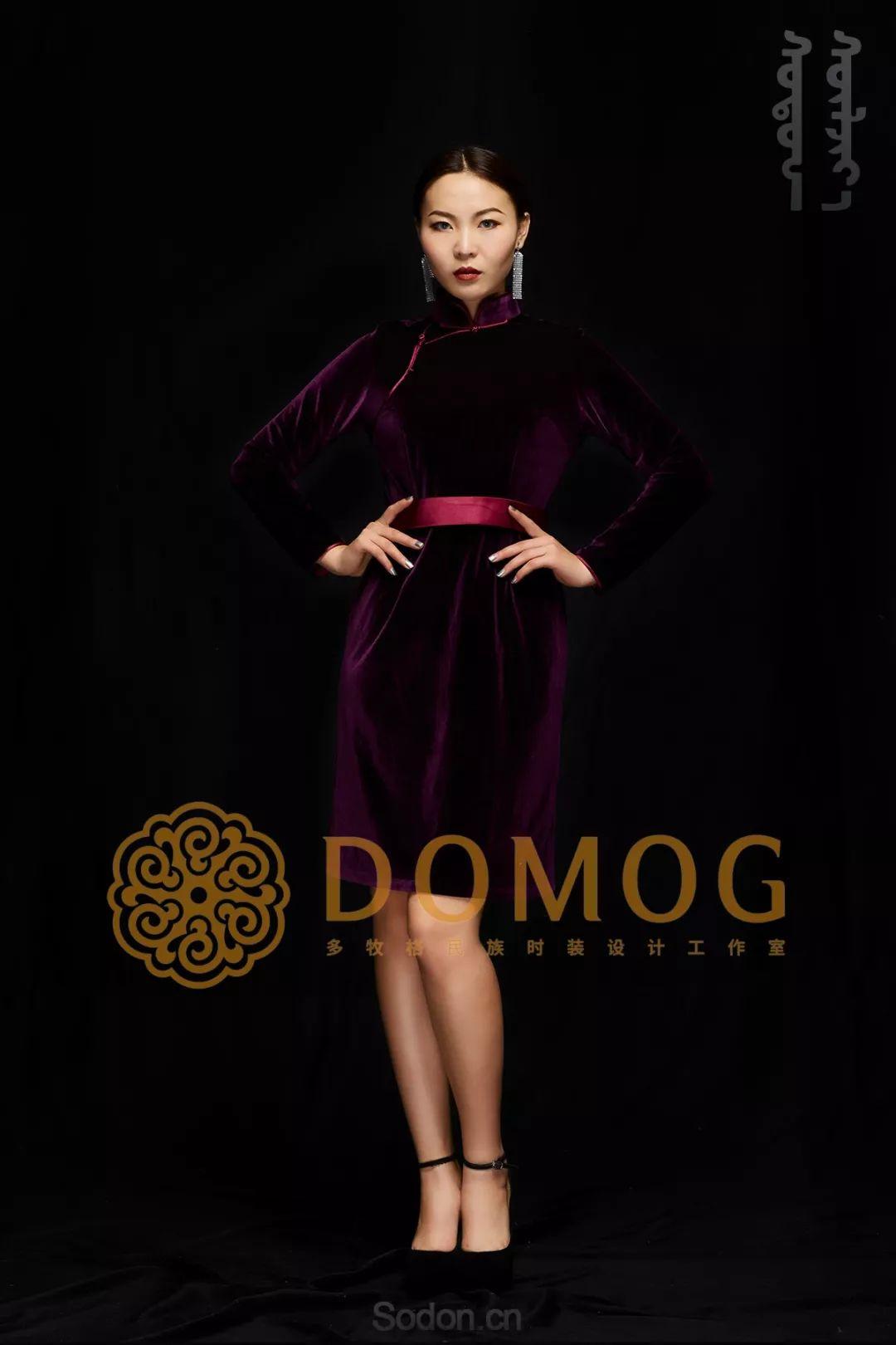 DOMOG蒙古时装绝美秋冬款系列,美出新高度! 第10张