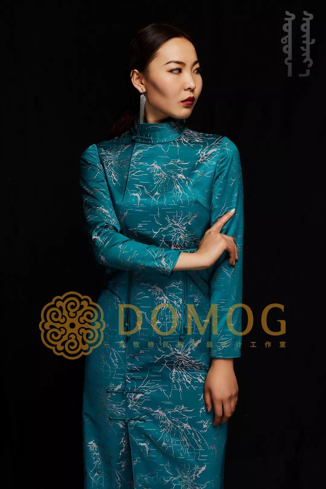 DOMOG蒙古时装绝美秋冬款系列,美出新高度! 第13张