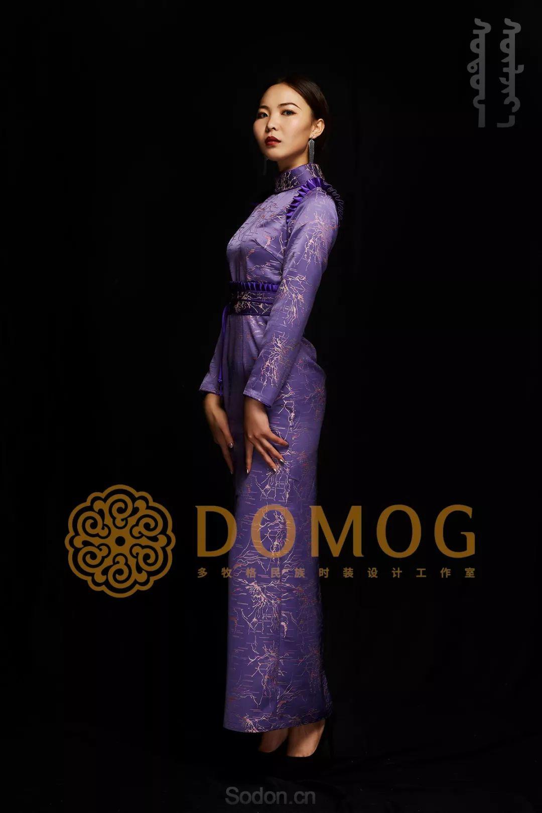 DOMOG蒙古时装绝美秋冬款系列,美出新高度! 第17张