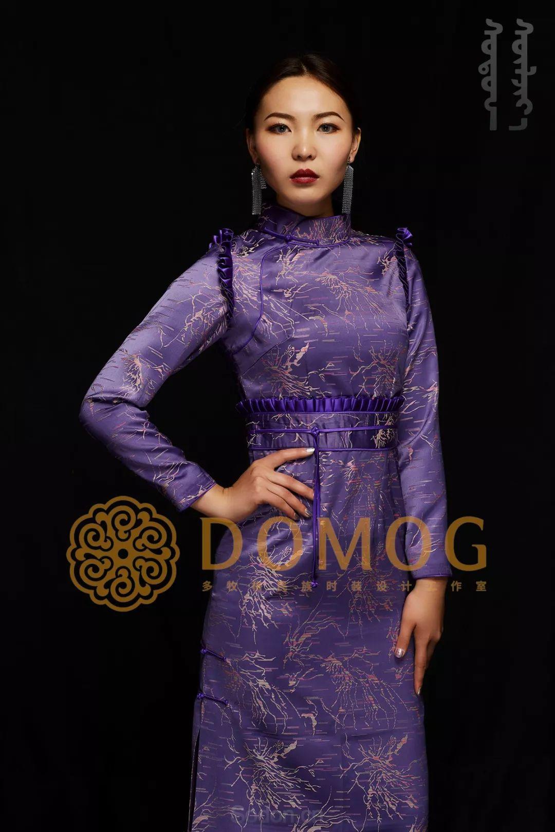 DOMOG蒙古时装绝美秋冬款系列,美出新高度! 第18张