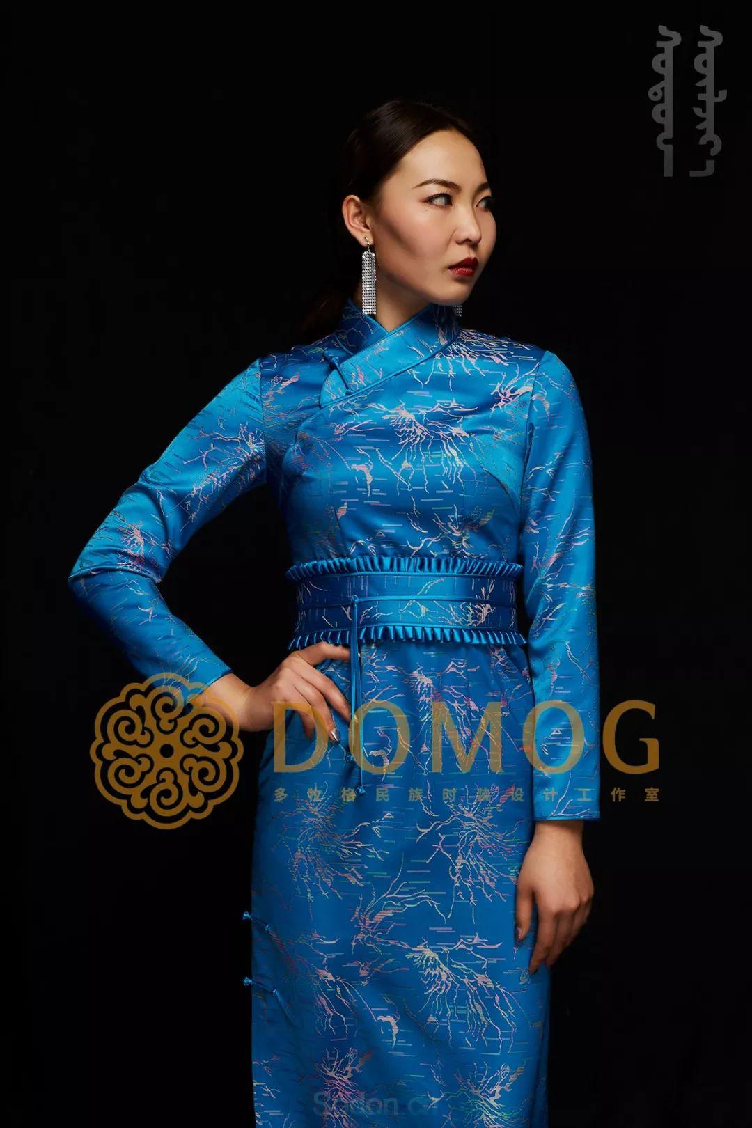 DOMOG蒙古时装绝美秋冬款系列,美出新高度! 第19张