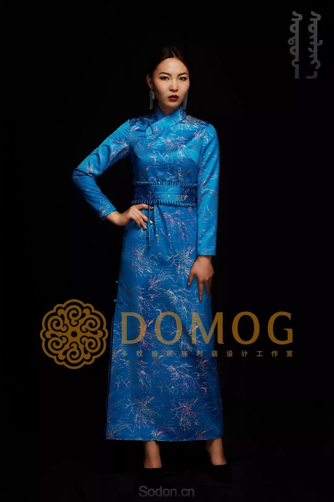 DOMOG蒙古时装绝美秋冬款系列,美出新高度! 第20张