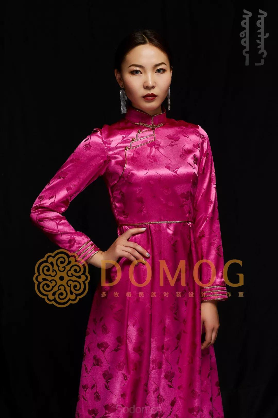 DOMOG蒙古时装绝美秋冬款系列,美出新高度! 第25张