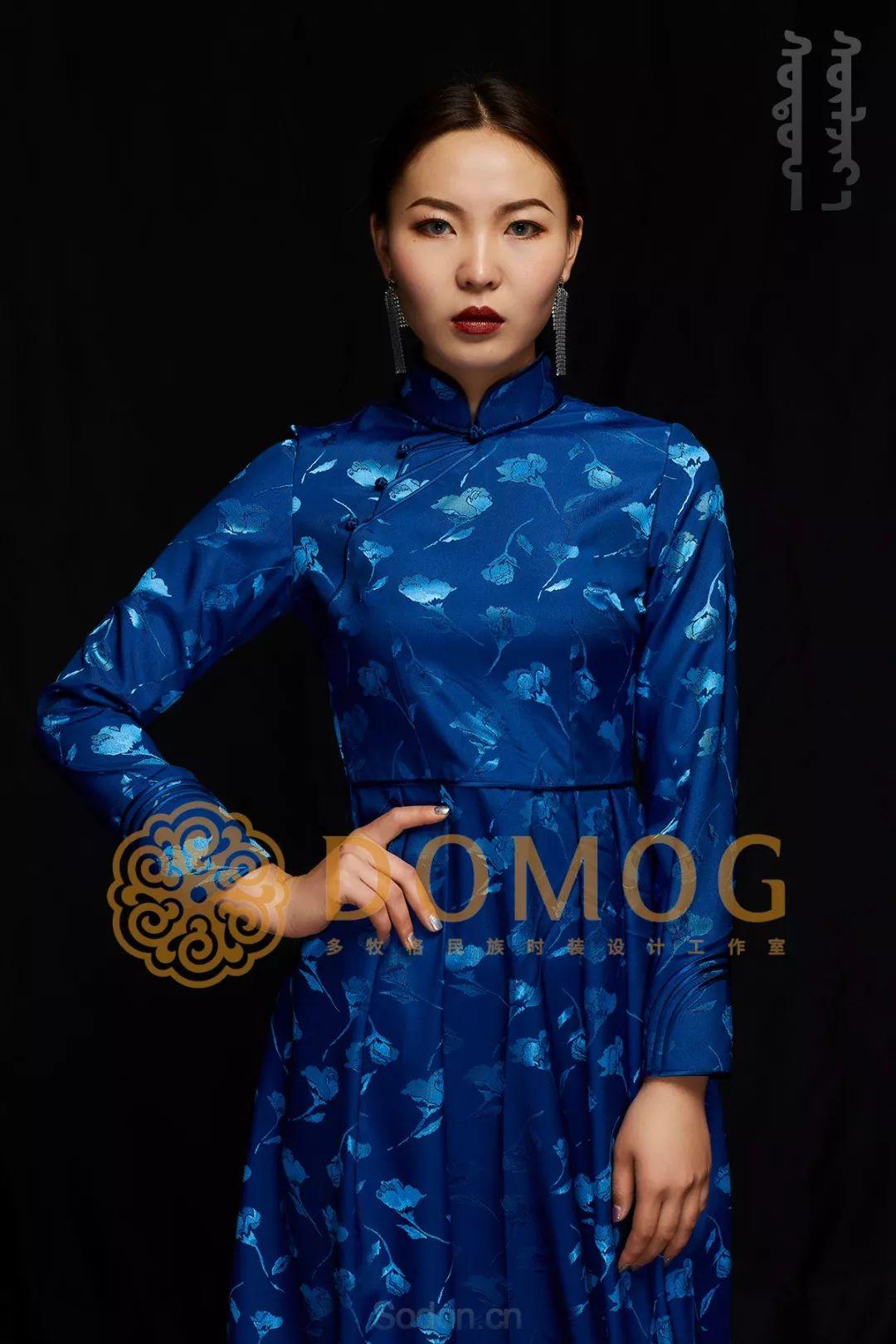DOMOG蒙古时装绝美秋冬款系列,美出新高度! 第23张