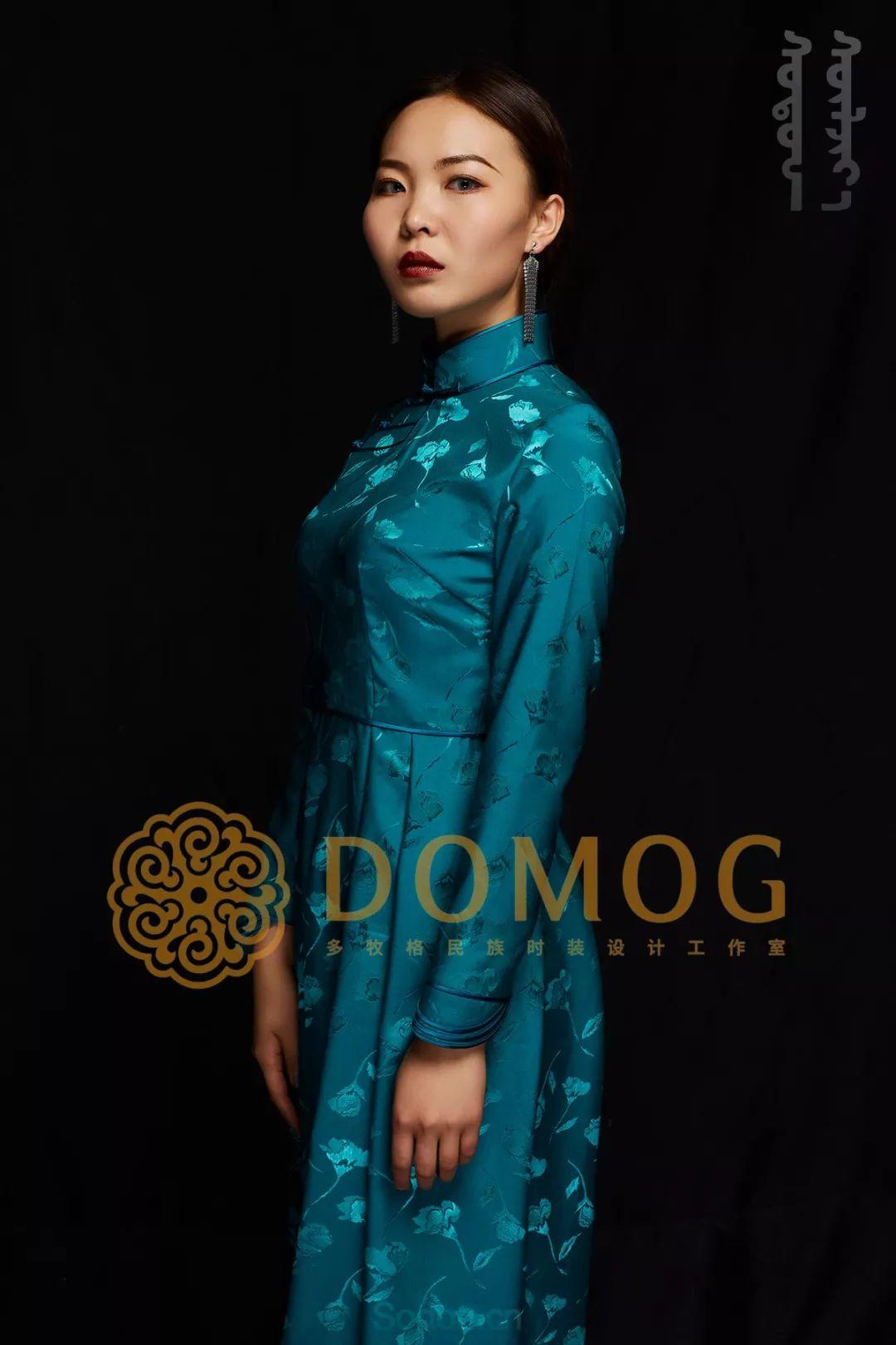 DOMOG蒙古时装绝美秋冬款系列,美出新高度! 第27张